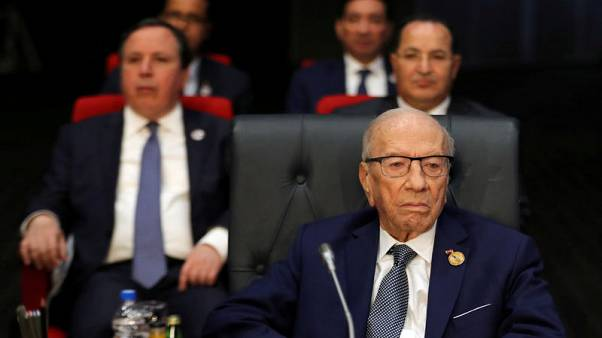 Tunisian president taken to hospital following second health scare in a month