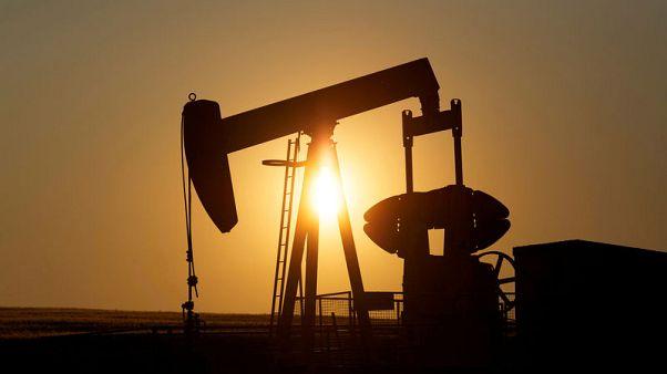 Oil steadies after global demand worries spark fall