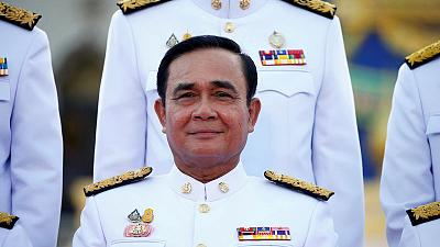 Thai PM faces first opposition challenge as he sets out plans