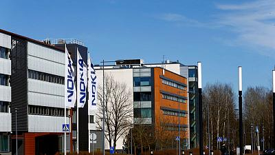 Nokia second quarter beats forecasts on solid demand; maintains outlook