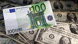 اليورو يهوي لأدنى مستوى في شهرين مقابل الدولار وسط عدم تيقن من سياسة المركزي