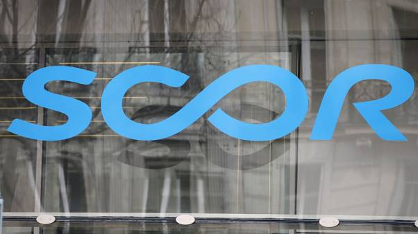 French reinsurer SCOR's first-half net profit rises