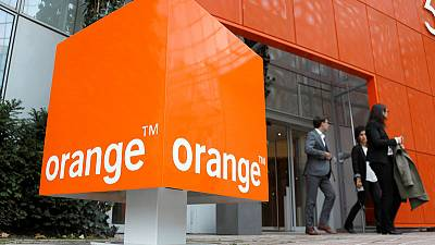 Telecoms group Orange second-quarter revenue stabilises in France on improving market conditions