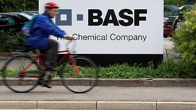 BASF says basic chemicals accounted for most of the slump in second quarter