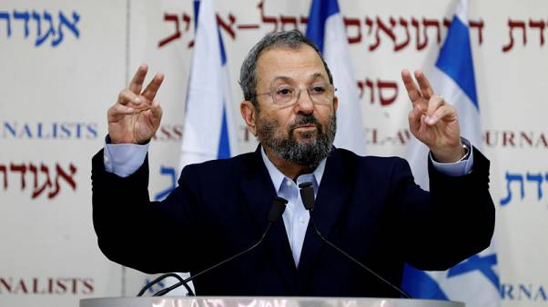 Former Israeli leader Barak joins with left-wing in election run
