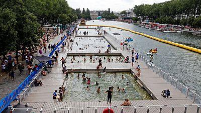Paris records hottest temperature since records began