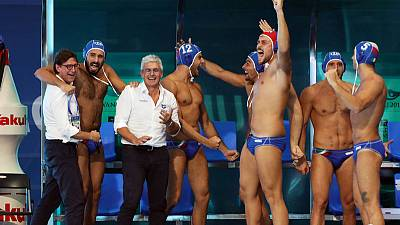 Spain and Italy power into men's world water polo final