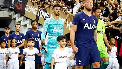 Tottenham announce eight-year shirt deal with AIA