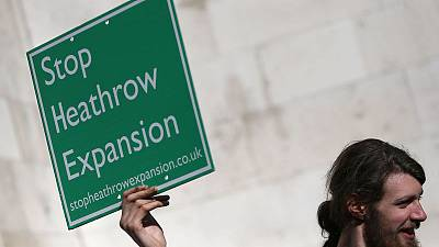 PM Johnson says following Heathrow expansion court cases with interest