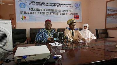 La MINUSMA contribue à la formation continue des Autorités intérimaires et Collèges transitoires de Tombouctou et Taoudéni
