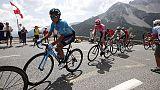 Tour: Quintana solo in vetta al Galibier
