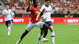 United's late winner against Spurs wraps up perfect tour