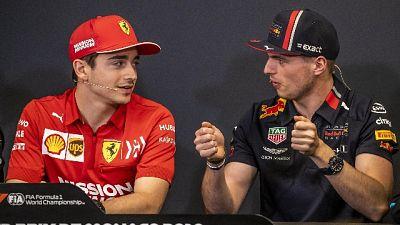 F1: Leclerc, con Verstappen bei duelli