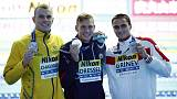 Dressel says beaten rival Chalmers is better 100 swimmer