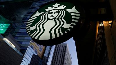 Starbucks same-restaurant sales beat on U.S., China growth; shares rise
