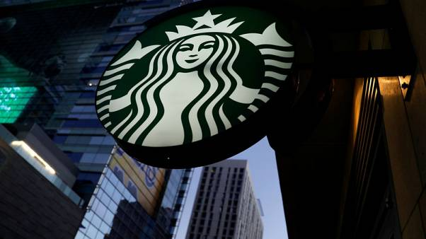 Starbucks same-restaurant sales beat on U.S., China growth; shares rise