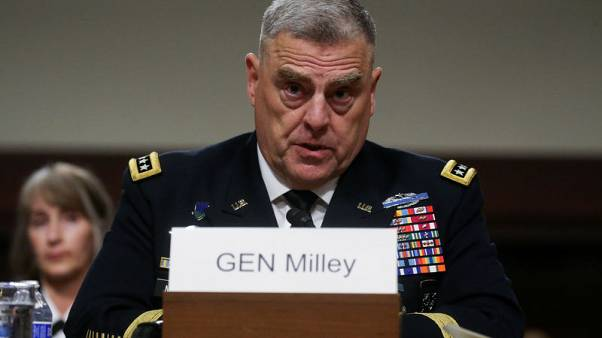 U.S. Senate confirms Milley as chairman of Joint Chiefs