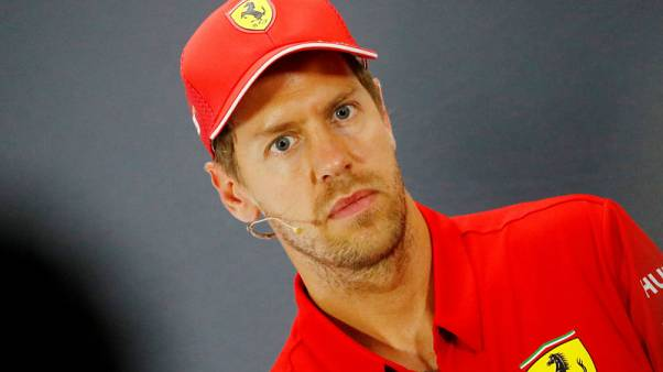 Vettel says he is his own biggest critic