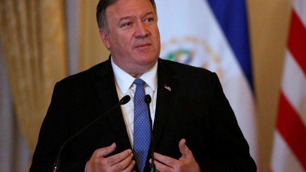 بومبيو مستعد للذهاب إلى إيران ويدعو حلفاء إلى الانضمام لقوة بحرية