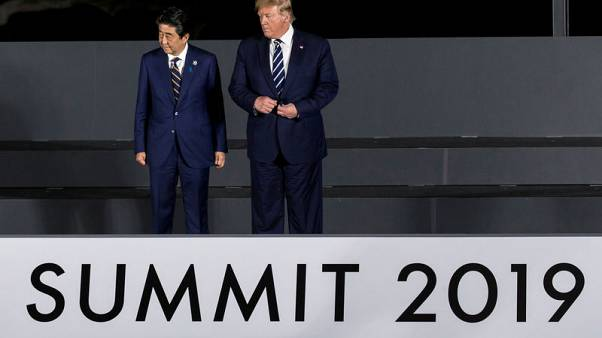 Japan, U.S. eyeing ministerial trade talks in Washington, D.C. on Aug 1 - sources