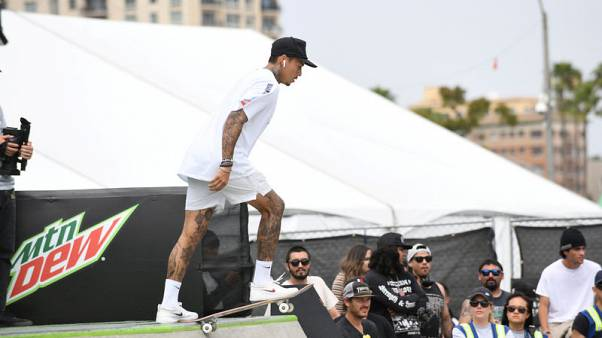 Skateboarders stoked to send sport to greater heights at Games
