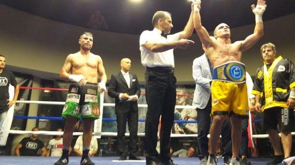 Boxe: El Harraz campione italiano Medi
