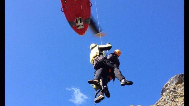 Mancati rientri, 6 alpinisti in salvo