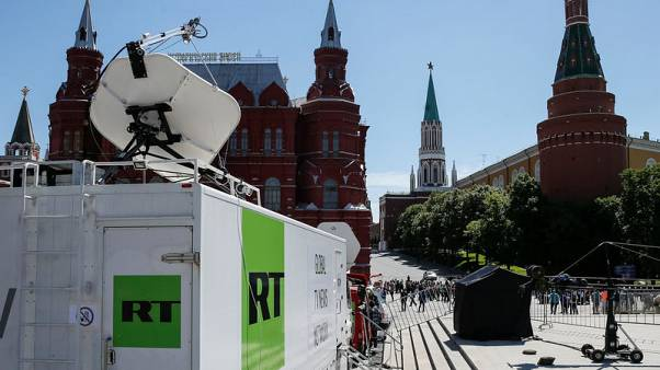 Britain fines Russia's RT for breaking broadcast rules over Skripal and Syria