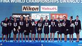 U.S. sink Spain to win women's water polo world title