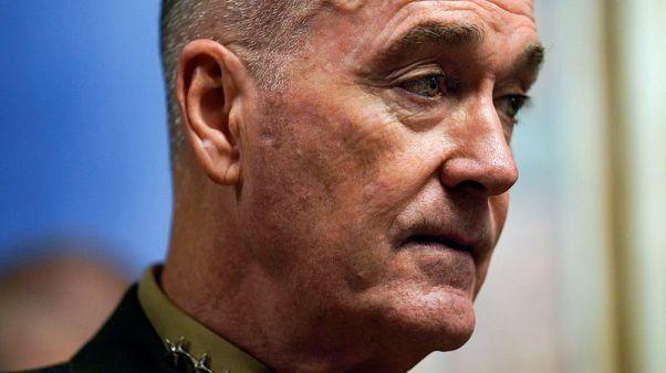 رئيس الأركان الأمريكي يعبر عن تفاؤل حذر تجاه محادثات السلام في أفغانستان