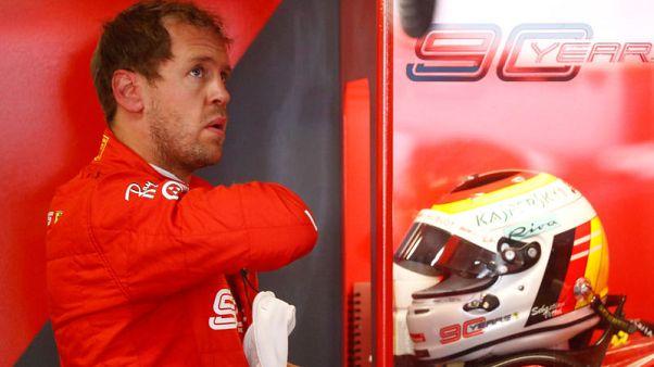 Vettel fastest for Ferrari at home German GP