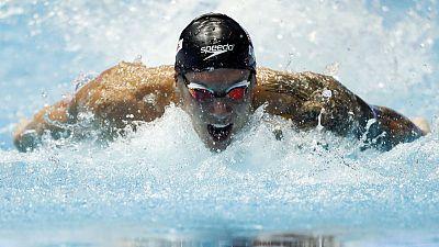Americans Dressel, Smith set world records