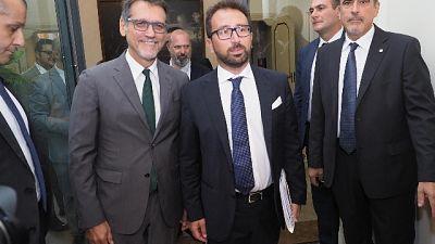 Bonafede a cerimonia strage Bologna