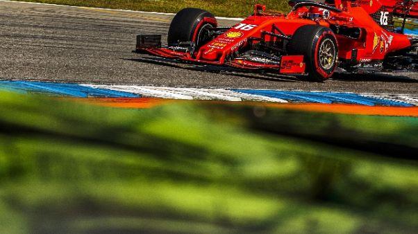 Gp Germania: Ferrari top in 2/e libere