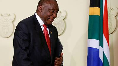 I only exchanged pleasantries with Guptas, South Africa's Ramaphosa tells inquiry