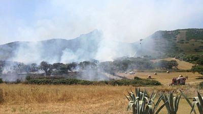 Nuova allerta incendi in Sardegna