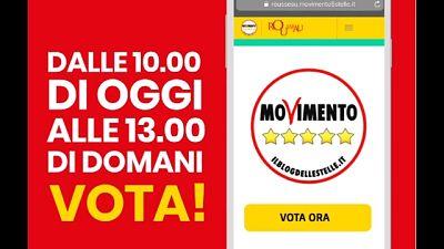 M5S: ok alla riorganizzazione Movimento