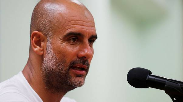 Guardiola plays down prospect of more City signings before deadline