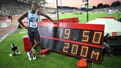 Athletics: 'I'm the man,' says Lyles as he prepares to face Coleman