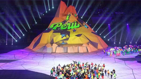 Peru bursts with pride as Lima opens Pan Am Games