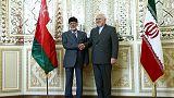 وزير الشؤون الخارجية العماني يجري محادثات في إيران