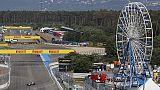 Gp Germania libere3,vola Ferrari Leclerc