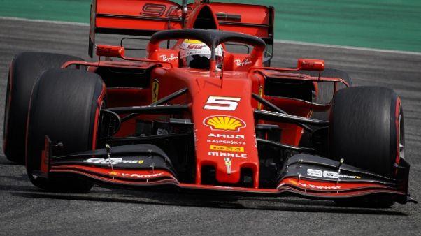 F1: Germania, Ferrari Vettel ko in Q1
