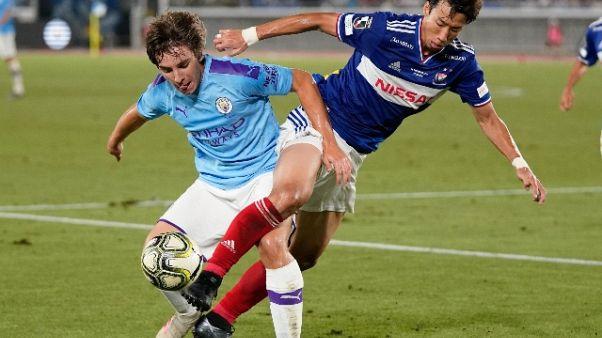 Tris del Manchester City allo Yokohama