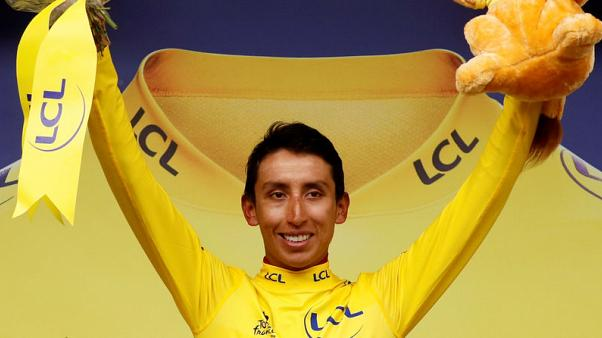 Cycling - Bernal all but wraps up maiden Colombian Tour title