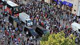 شهود: محتجون يعطلون حركة المرور على طريق رئيسي في موسكو