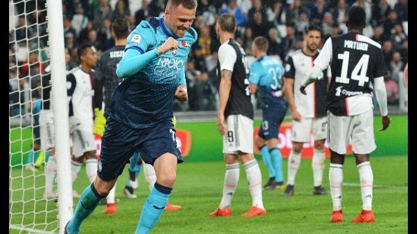 Lo Swansea batte l'Atalanta per 2-1