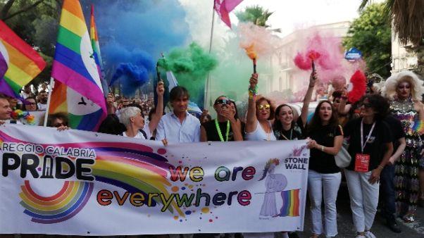 In 2000 a Gay Pride Reggio Calabria