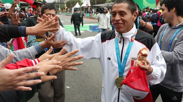 Pacheco win's men's marathon, completes sweep for Peru