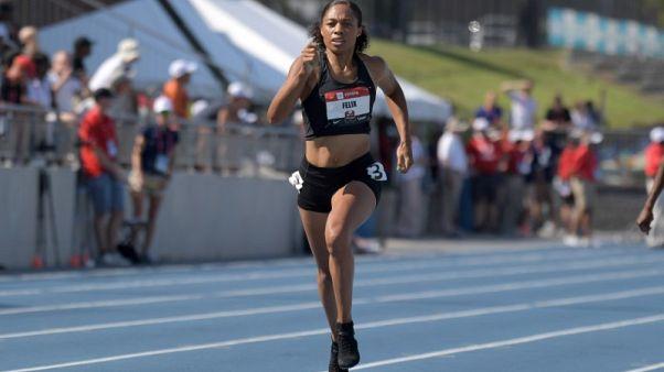 فيلكس تفشل في التأهل للفريق الأمريكي في سباق 400 متر، وكندريكس يتألق